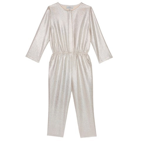 Wild And Gorgeous Metallic Starman Jumpsuit