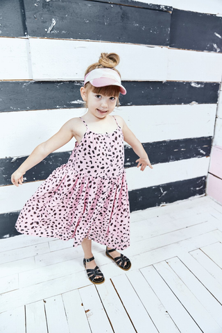 Noé & Zoë 'Pink Mash' Summer Dress