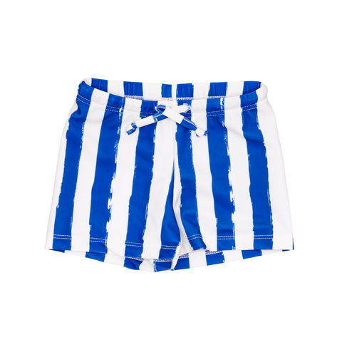 Noé & Zoë Blue Striped Swim Shorts