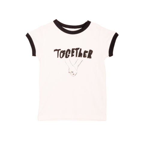 Noé & Zoë White 'Together' Tee
