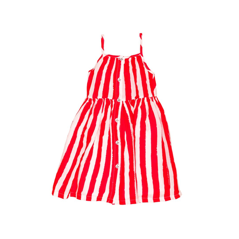 Noé & Zoë 'Red Stripes' Summer Dress