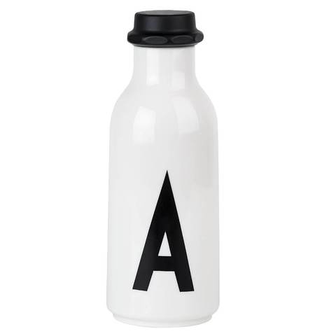 Design Letters Initial Drinking Bottle