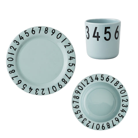 Design Letters Green Numbers Gift Set
