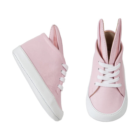Minna Parikka Pink and White Baby Bunny Shoe