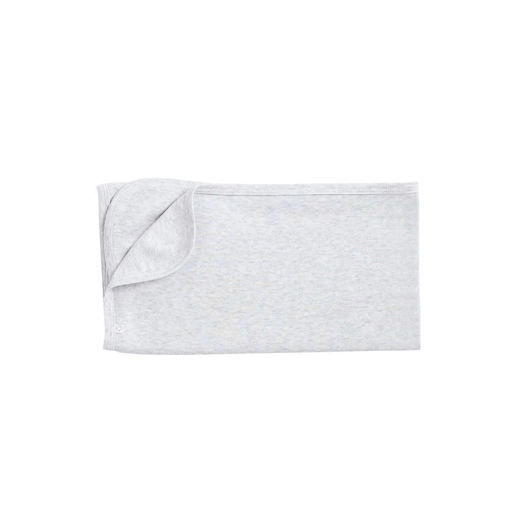Baby Mori Grey Organic Bamboo Cotton Blanket