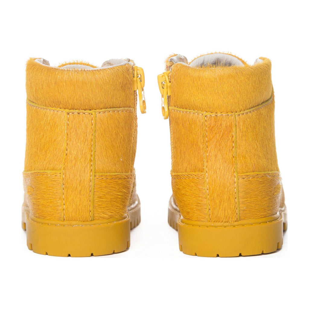 Akid 'Atticus' Pony Hair Mustard Yellow