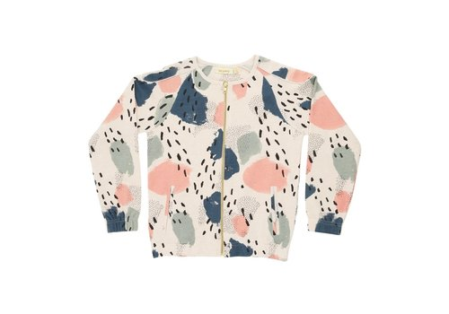 Soft Gallery Beige Printed Catcher Bomber