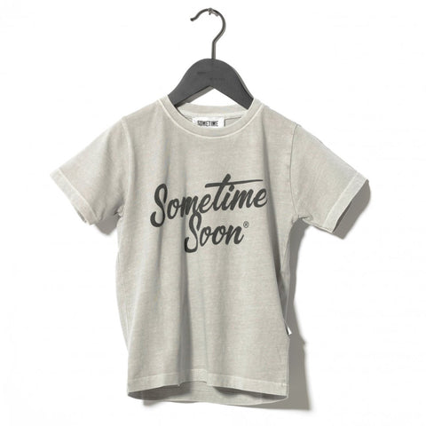 Sometime Soon Grey Colour Change Tee