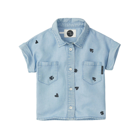 Sproet & Sprout 'Playing Cards' Chambray Shirt