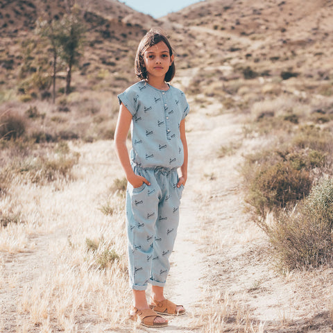 Sproet & Sprout 'No Vacancy' Chambray Jumpsuit