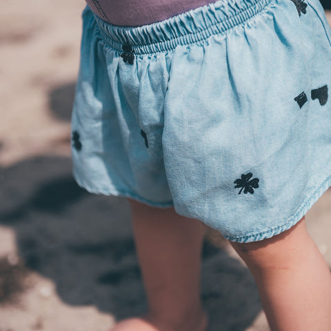 Sproet & Sprout 'Playing Cards' Chambray Bloomers