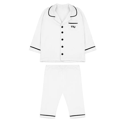 The Tiny Universe Pyjamas White