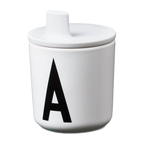 Design Letters White Drink Lid