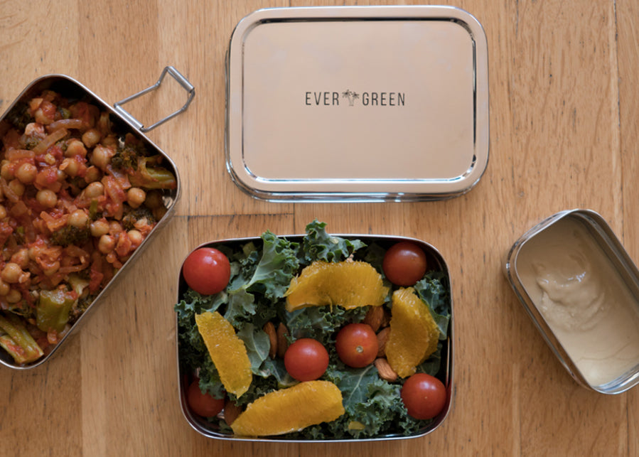 Evergreen 3-in-1 Lunch Stacker stainless steel lunch box