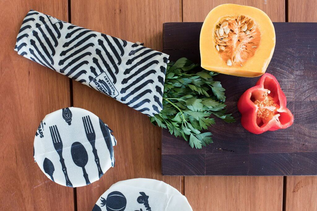 STORE LEFTOVERS IN BEESWAX WRAPS