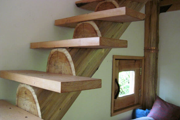 The handmade Staircase