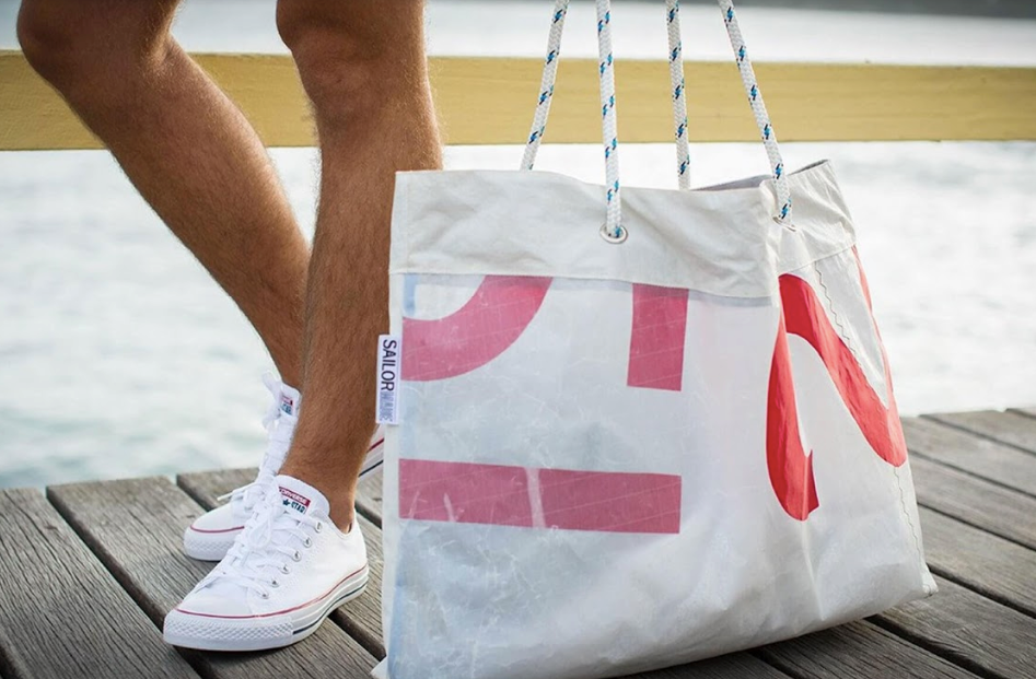 Sailormade Tote Bag – Handmade in Manly, Australia from reclaimed boat sails!