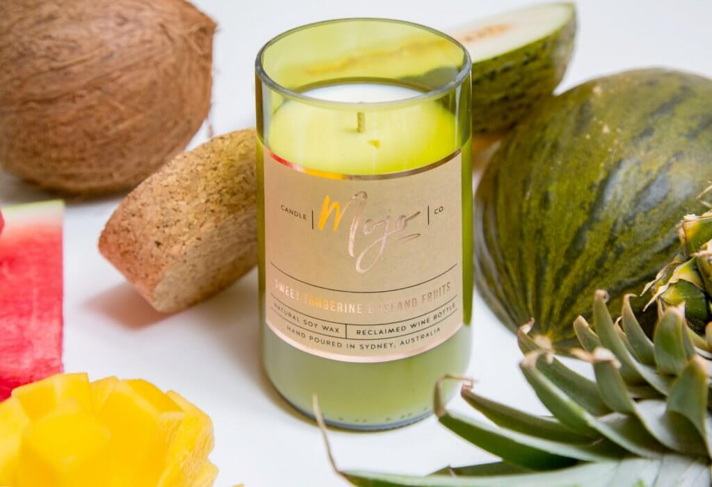 The Mojo Sweet Tangerine & Island Fruits Candle is Here