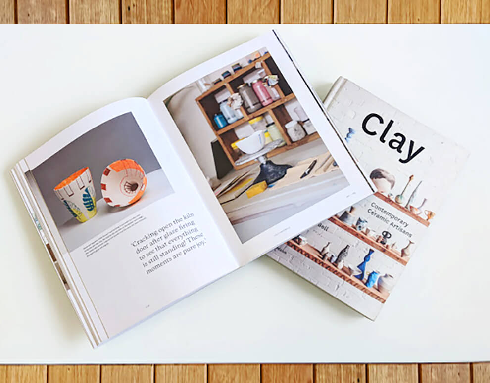 Clay: Contemporary Ceramic Artisans Book