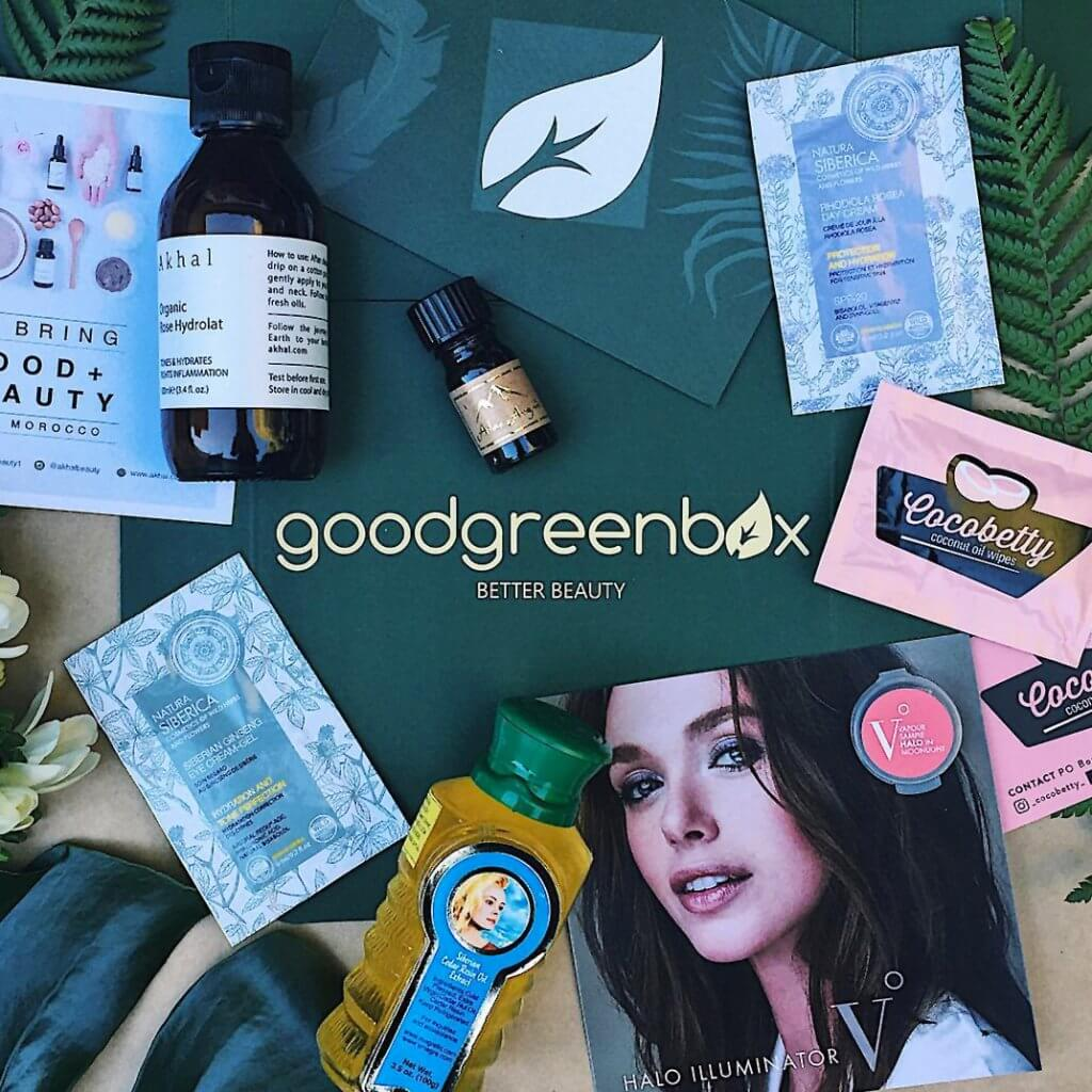 GOOD GREEN BOX BEAUTY SUBSCRIPTION
