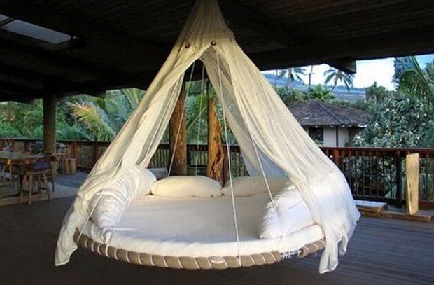 trampoline day bed