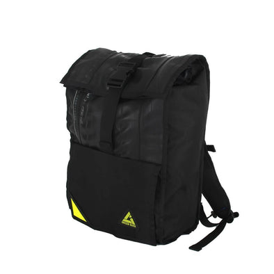 Green Guru Commuter Roll Top Backpack - Upcycle Studio