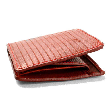 Billfold Wallet with Coin Pocket Red