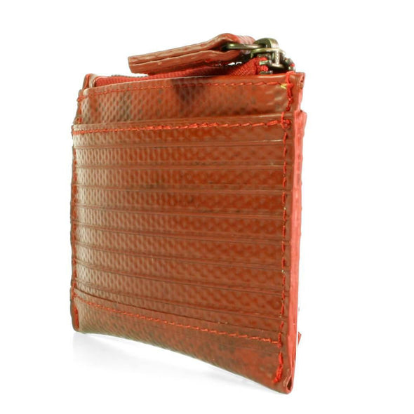 Elvis and Kresse The Fire Hose Coin Purse- Small - Upcycle Studio