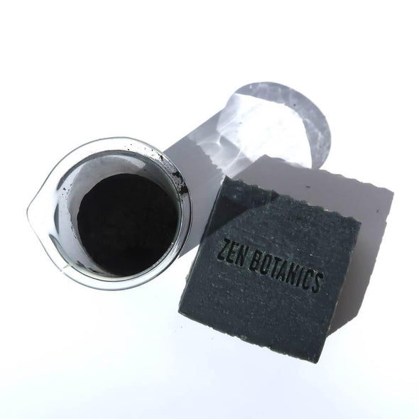 Zen Botanics Cleanse Bar Activated Charcoal - Upcycle Studio