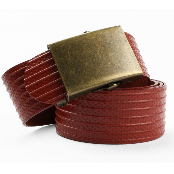 Elvis and Kresse The Slider Belt - Antique Brass - Upcycle Studio