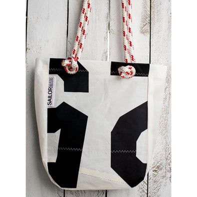 Reclaimed Sail Small Tote Bag
