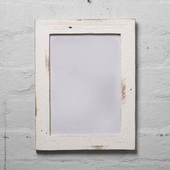 Mulbury White Washed Reclaimed Slim Timber Photo Frame Slim picture frames | Slim Photo Frames | Thin Photo Frames | Thin picture frames | Frames | Photo | Presents | Photo Frames | Picture frames | Australian Made Frames | Gifts | Australian made | Accepts Bitcoin | Accepts Crypto currency | Upcycle Studio