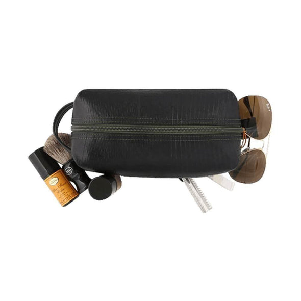 Alchemy Goods Elliot Dopp Large Travel Kit -Coal - Upcycle Studio