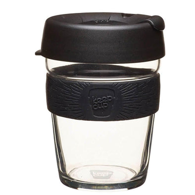 KeepCup 12oz Black - Upcycle Studio