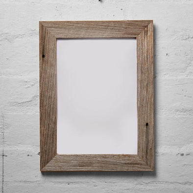 Mulbury Grey Reclaimed Timber Photo Frames - Upcycle Studio