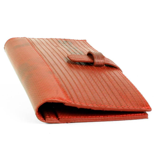 Elvis & Kresse The Fire Hose Travel Wallet - Upcycle Studio