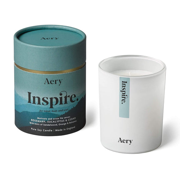 Aery Living Mindful 200g Soy Candle-Inspire - Upcycle Studio