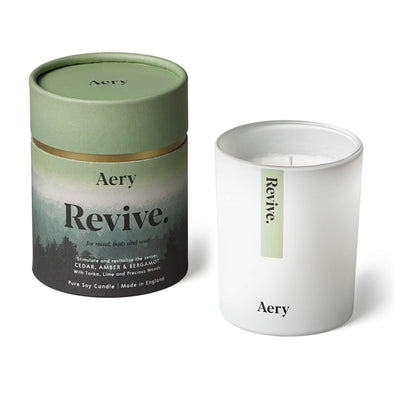 Aery Living Mindful 200g Soy Candle-Revive - Upcycle Studio