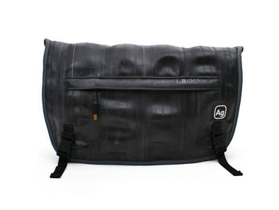 Alchemy Goods Black Pike Messenger Bag - Upcycle Studio
