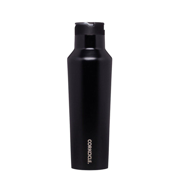 Corkcicle Sports Canteen Water Bottle Matt Black 600ml | Re Usable Drink Bottle | reusable drink bottle | Gym water bottle | Sports Water bottle | Best Drink Bottle | Refillable bottle water | Eco drink bottle | Drink Bottle | Kids Drink Bottle | Water Bottle | Best Water Bottle | Sports Bottle | personalised water bottle Australia | personalised drink bottles Australia | sport water bottle | custom drink bottles | Water Bottle | Drink Bottles | Upcycle Studio