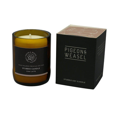 Pigeon & Weasel Vanilla Bean Soy Candle - Small | Online candles