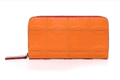 Elvis & Kresse Fire & Hide Purse - Orange - Upcycle Studio