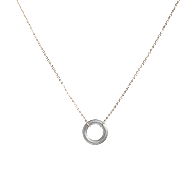 ARTICLE22 Virtuous Full Circle Necklace Sterling Silver - Upcycle Studio
