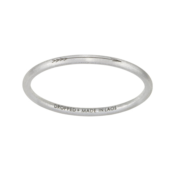 Article 22 Arrow Bangle --Standard Size - Upcycle Studio