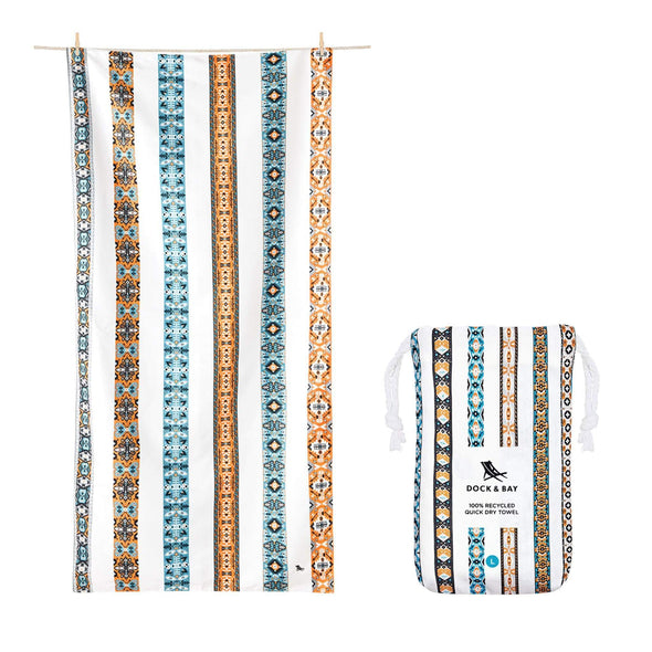 Dock & Bay | Beach Towel Bohemian Collection L 100% Recycled - Upcycle Studio