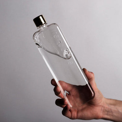 Memobottle Slim & Tall - The Flat Water Bottle - 450mL