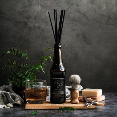 Mojo Beer Bottle Diffuser Barber Shop - Upcycle Studio