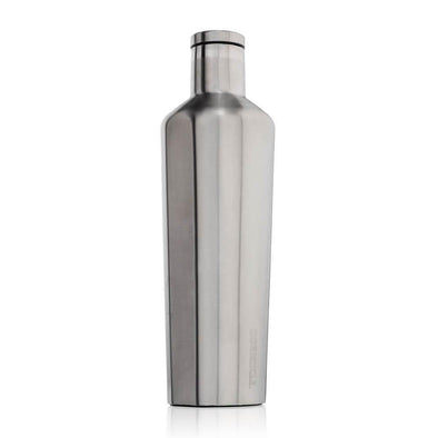 Silver Corkcicle 25oz Canteen Water Bottle - Upcycle Studio