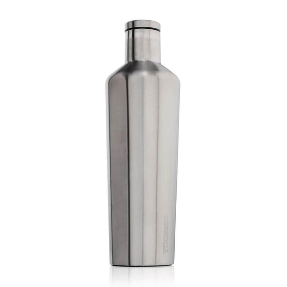 Corkcicle Canteen Water Bottle Silver 25oz (740ml) - Upcycle Studio