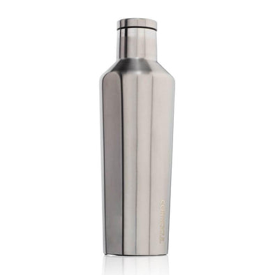Silver Corkcicle 16oz Canteen Water Bottle - Upcycle Studio